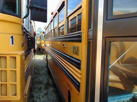 1997 GMC BLUEBIRD  A/C for sale at Interstate Bus Sales Inc. in Wallisville TX