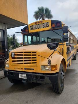 1998 International Blue Bird for sale at Interstate Bus Sales Inc. in Wallisville TX