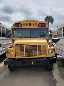 1998 GMC Blue Bird for sale at Interstate Bus Sales Inc. in Wallisville TX