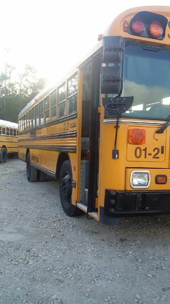 2001 Blue Bird TC 2000 for sale at Interstate Bus Sales Inc. in Wallisville TX
