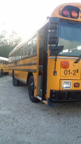 2001 Blue Bird Tc 2000 71/47 PAX In Wallisville TX - Interstate Bus