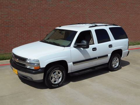 2004 Chevrolet Tahoe for sale in Dallas, TX