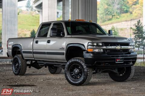 2002 Chevrolet Silverado 2500HD for sale at Friesen Motorsports in Tacoma WA