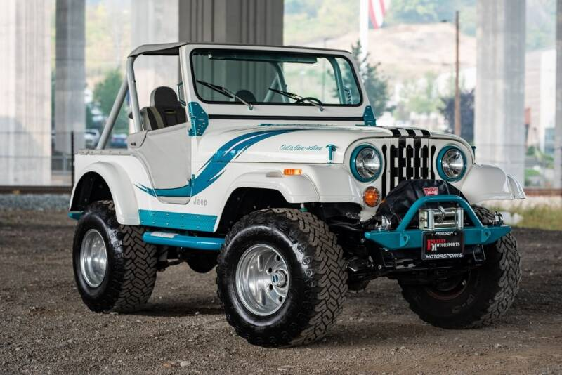 1981 Jeep CJ-5 for sale at Friesen Motorsports in Tacoma WA
