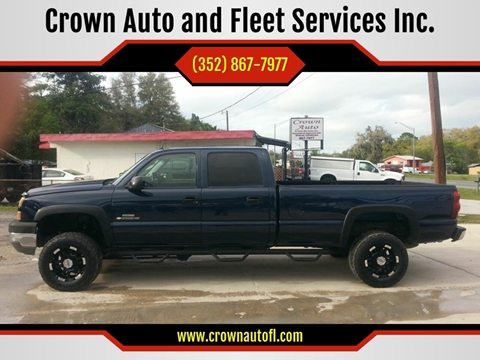 2005 Chevrolet Silverado 2500HD for sale at Crown Auto and Fleet Services Inc. in Ocala FL