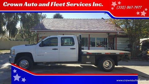 2014 Chevrolet Silverado 3500HD for sale at Crown Auto and Fleet Services Inc. in Ocala FL