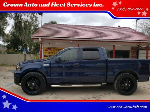 2006 Ford F-150 for sale at Crown Auto and Fleet Services Inc. in Ocala FL