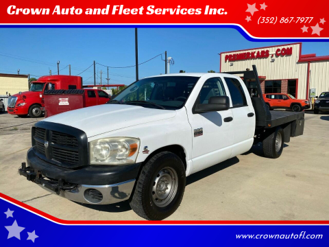 2007 Dodge Ram Pickup 2500 for sale at Crown Auto and Fleet Services Inc. in Ocala FL