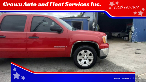2007 GMC Sierra 1500 for sale at Crown Auto and Fleet Services Inc. in Ocala FL