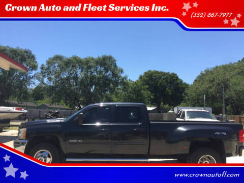 2012 Chevrolet Silverado 3500HD for sale at Crown Auto and Fleet Services Inc. in Ocala FL