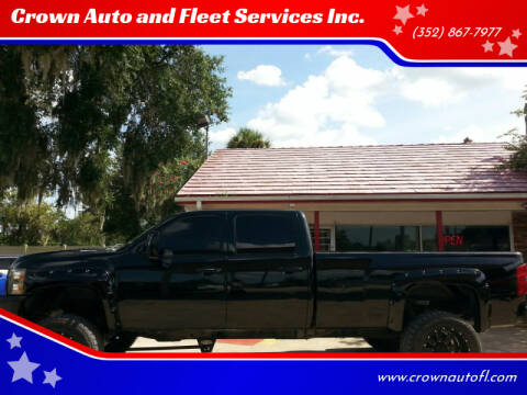2011 Chevrolet Silverado 3500HD for sale at Crown Auto and Fleet Services Inc. in Ocala FL