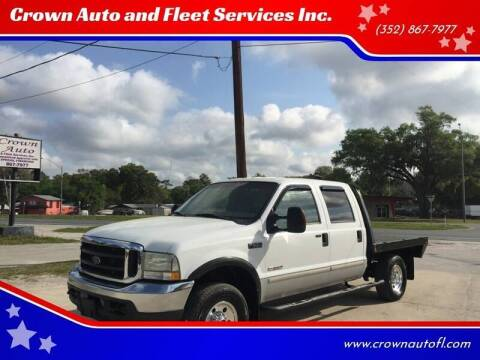 2004 Ford F-250 Super Duty for sale at Crown Auto and Fleet Services Inc. in Ocala FL