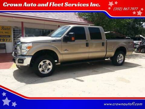 2011 Ford F-250 Super Duty for sale at Crown Auto and Fleet Services Inc. in Ocala FL