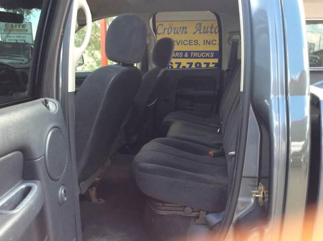 2003 Dodge Ram Pickup 1500 4dr Quad Cab ST 4WD SB - Ocala FL