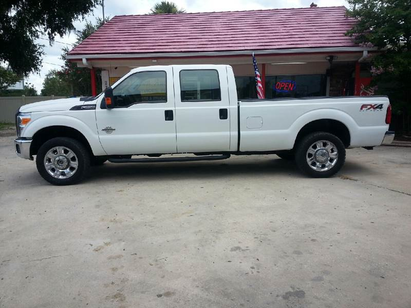 2014 Ford F-250 Super Duty 4x4 XL 4dr Crew Cab 8 ft. LB Pickup - Ocala FL