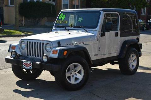 2004 Jeep Wrangler for sale at GREAT AUTO RACE in Chicago IL