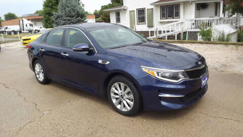 2017 Kia Optima for sale at Choice Auto in Carroll IA