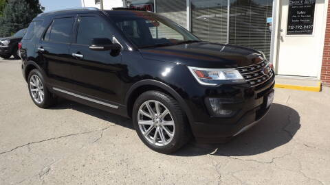 2016 Ford Explorer for sale at Choice Auto in Carroll IA