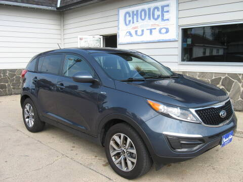 2014 Kia Sportage for sale at Choice Auto in Carroll IA