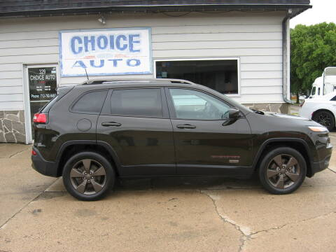 2016 Jeep Cherokee for sale at Choice Auto in Carroll IA