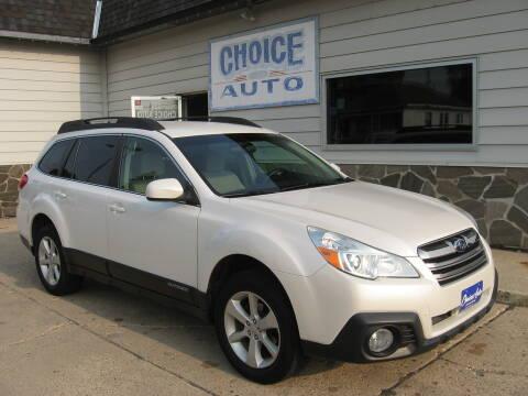 2014 Subaru Outback for sale at Choice Auto in Carroll IA