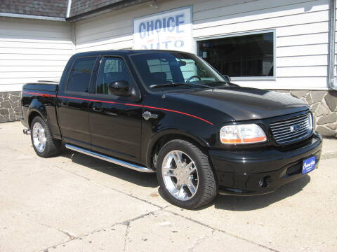 2002 Ford F-150 for sale at Choice Auto in Carroll IA