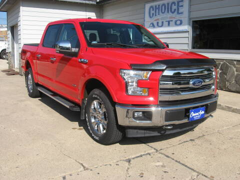 2017 Ford F-150 for sale at Choice Auto in Carroll IA