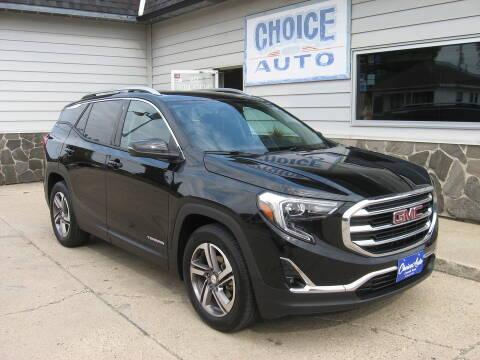 2018 GMC Terrain for sale at Choice Auto in Carroll IA