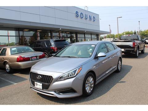 2017 Hyundai Sonata Hybrid for sale in Renton, WA