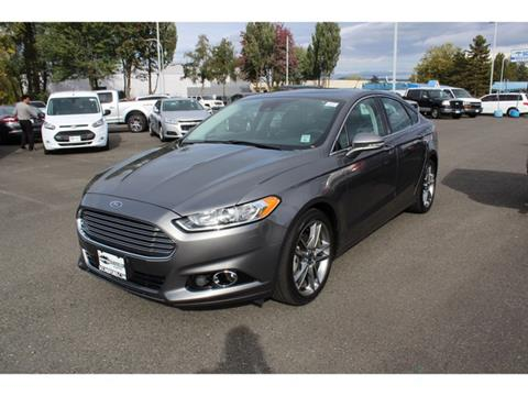 2014 Ford Fusion for sale in Renton, WA
