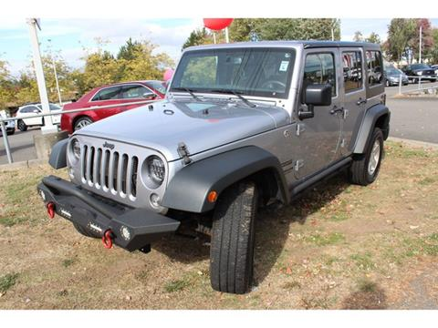 2015 Jeep Wrangler Unlimited for sale in Renton, WA