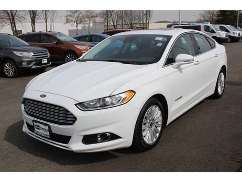 2016 Ford Fusion Hybrid for sale in Renton, WA