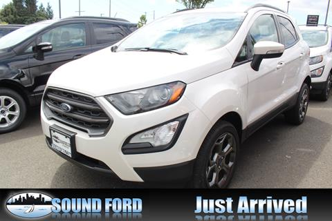 2018 Ford EcoSport for sale in Renton, WA