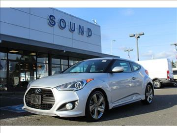 2013 Hyundai Veloster Turbo for sale in Renton, WA