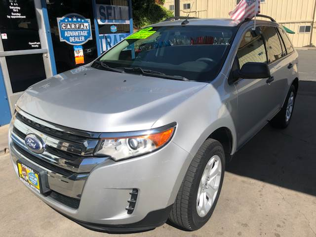 Ford Edge Awd Se Fleet Dr Crossover Sonora Ca