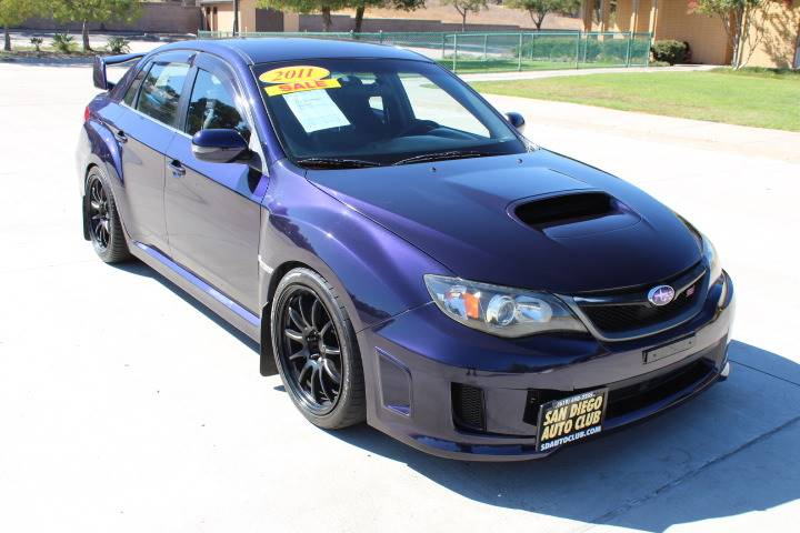 2011 Subaru Impreza Wrx Sti Awd 4dr Sedan In Spring Valley