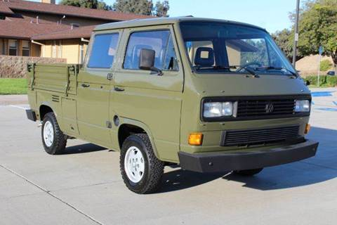 1985 Volkswagen Transporter II for sale at San Diego Auto Club in Spring Valley CA