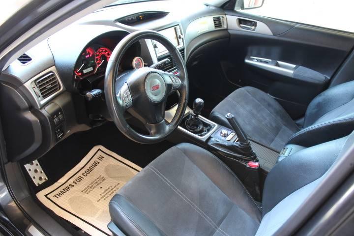 2008 Subaru Impreza Wrx Sti Awd 4dr Wagon Wnavi Wsilver Bbs Wheels