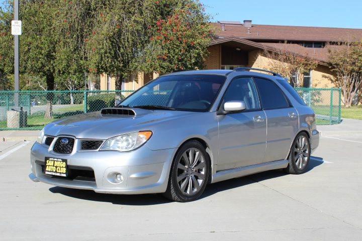 2006 Subaru Impreza Wrx Awd 4dr Wagon In Spring Valley Ca San