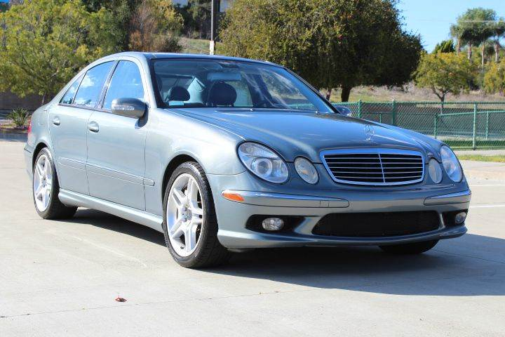 2004 mercedes benz e class e 55 amg 4dr sedan in spring valley ca san diego auto club. Black Bedroom Furniture Sets. Home Design Ideas