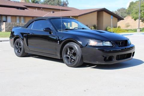Ford Mustang Svt Cobra For Sale In California Carsforsale