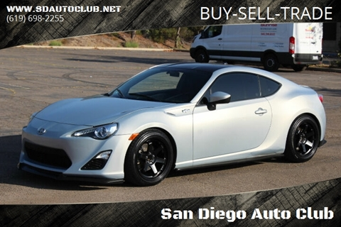 2013 Scion FR-S for sale in Spring Valley, CA