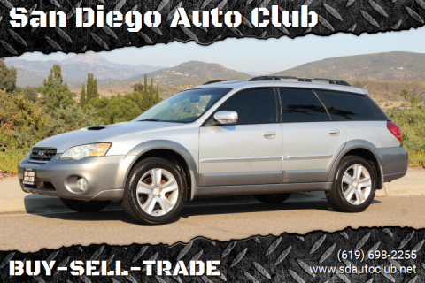 2006 Subaru Outback for sale at San Diego Auto Club in Spring Valley CA