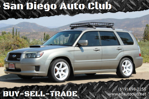 2006 Subaru Forester for sale at San Diego Auto Club in Spring Valley CA