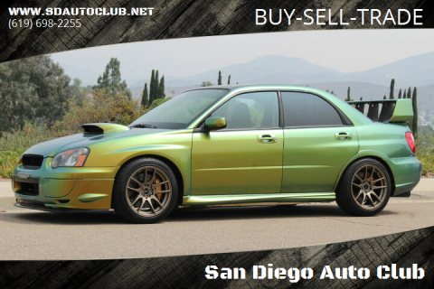2005 Subaru Impreza for sale at San Diego Auto Club in Spring Valley CA