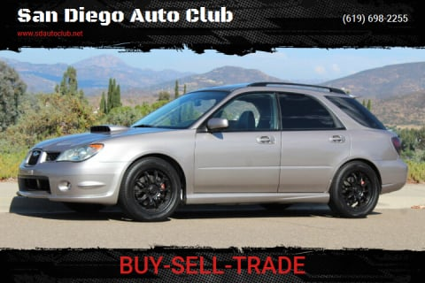 2006 Subaru Impreza for sale at San Diego Auto Club in Spring Valley CA