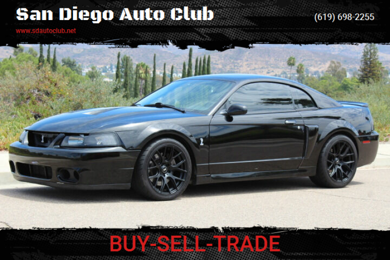 2004 Ford Mustang SVT Cobra for sale at San Diego Auto Club in Spring Valley CA