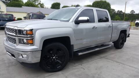 2015 Chevrolet Silverado 1500 LTZ for sale at Crossroads Auto Sales LLC in Rossville GA