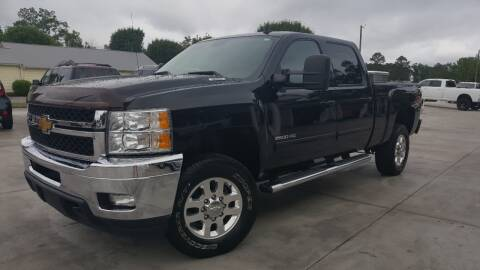 2012 Chevrolet Silverado 2500HD LTZ for sale at Crossroads Auto Sales LLC in Rossville GA