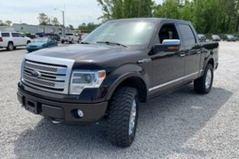 2014 Ford F-150 Platinum for sale at Crossroads Auto Sales LLC in Rossville GA